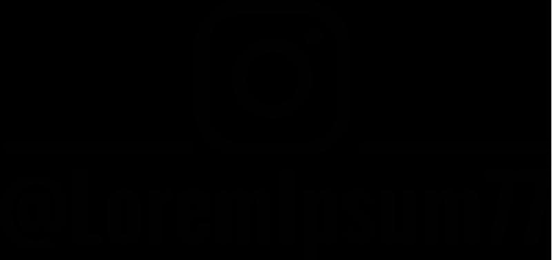 TENSTICKERS. シンプルなインスタグラムのパーソナライズされたショップウィンドウデカール. 会社のためのシンプルなパーソナライズされたinstagramのアイコンステッカー。あなたの会社の名前を提供してください、そしてそれはあなたの注文で印刷されるでしょう。
