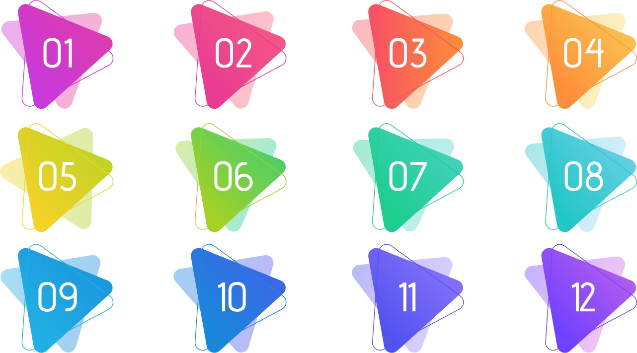TENSTICKERS. スタイリッシュな矢印の箇条書き番号ウィンドウデカール. スタイリッシュな矢印の箇条書きの数字のステッカー。このデザインはあなた自身の選択の数でカスタマイズ可能です。オリジナルの粘着性があり、簡単に塗布できます。