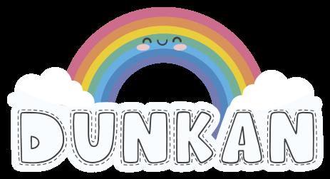 TenVinilo. Vinilo para niños arco iris sonriente con nombre. Este divertido vinilo arco iris infantil tiene un arcoiris en tonos pastel sonriente situado sobre nubes ¡Personalízalo con el nombre que desees!