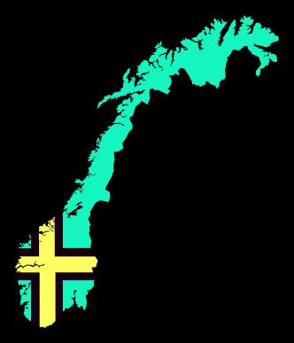 TENSTICKERS. 旗車デカールと青いノルウェーの地図. 車両用の装飾的なノルウェーの地図デカール。デザインには、ノルウェーの象徴的なシンボルも含まれています。バイク、バイクフレーム、ラップトップなどにも使用できます。