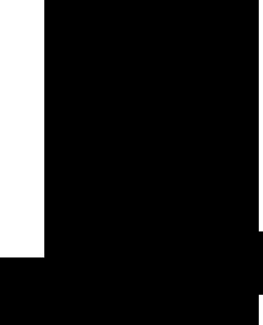 """TenVinilo. Vinilo decorativo silueta Hitchcock. Adhesivo de una de las siluetas más famosas de la historia del cine, la del director británico de películas de misterio como """"Psicosis""""."""