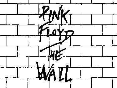 TenStickers. Wandtattoo Pink Floyd The Wall. andtattoo mit dem Pink Floyd the wall Logo. Sind Sie ein Fan der berühmten britischen Rockband und dem Album The wall?