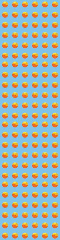 TenStickers. Koelkast stickers 70's zonnepaneel koelkast. Decoratieve zelfklevende sticker van de koelkastdeur met cirkelvormig ontwerp dat de zon imiteert. Prachtig ontwerp om een interessante sfeer toe te voegen aan de ruimte van uw koelkast.