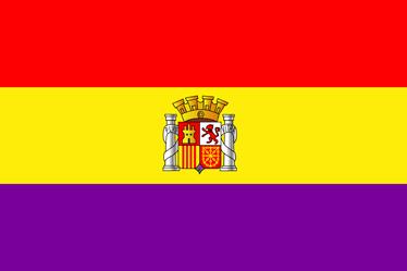 TenVinilo. Vinilo decorativo República España. Si deseas la caída de la monarquía y sueñas con una España republicana tienes que hacerte con este adhesivo.