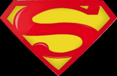 TenStickers. Autocolante decorativo para PC Logo Superman. Torna o teu PC num super portátil com este fantástico autocolante decorativo para PC do logotipo do Superman/Super-Homem!
