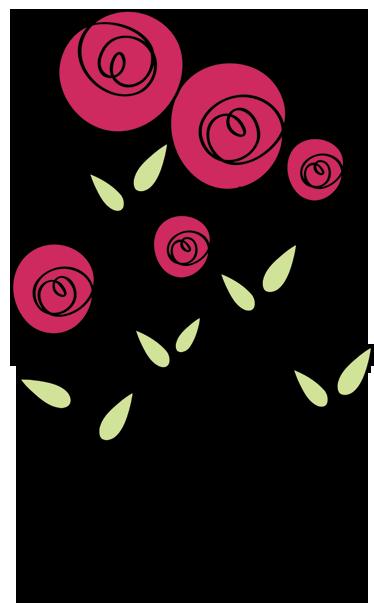 vinilo decorativo dibujo rosas tenvinilo