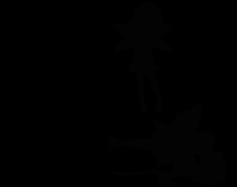 TenStickers. Vinil com fadas e duendes Estrelas brilhantes pó de fada. Estrelas brilhantes com vinil autocolante decorativo de parede de anjo de fada para a decoração do quarto das crianças. A cor é personalizável e é original. Fácil de aplicar e autocolante.