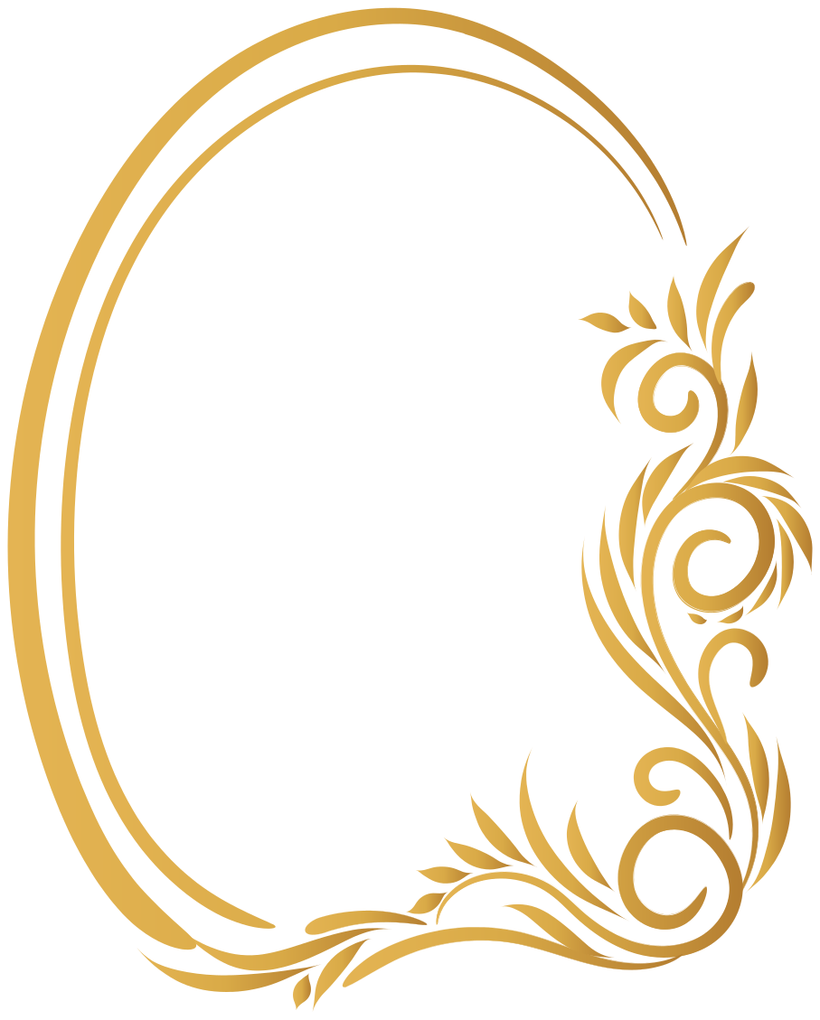 TenStickers. Adesivos para espelhos decorativos Moldura floral vintage. autocolante decorativo de padrão floral para decoração de espelho e em outra superfície de escolha. Disponível em qualquer tamanho necessário.