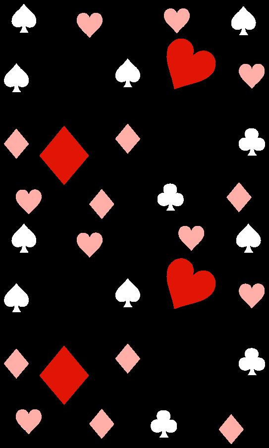 TenStickers. Autocolantes parede infantil Cartas de jogar confete. autocolante do jogo de confete de cartas de jogar. Você pode decorar qualquer parte da sua casa com nosso vinil autocolante decorativo de confete de jogo original e adorável.