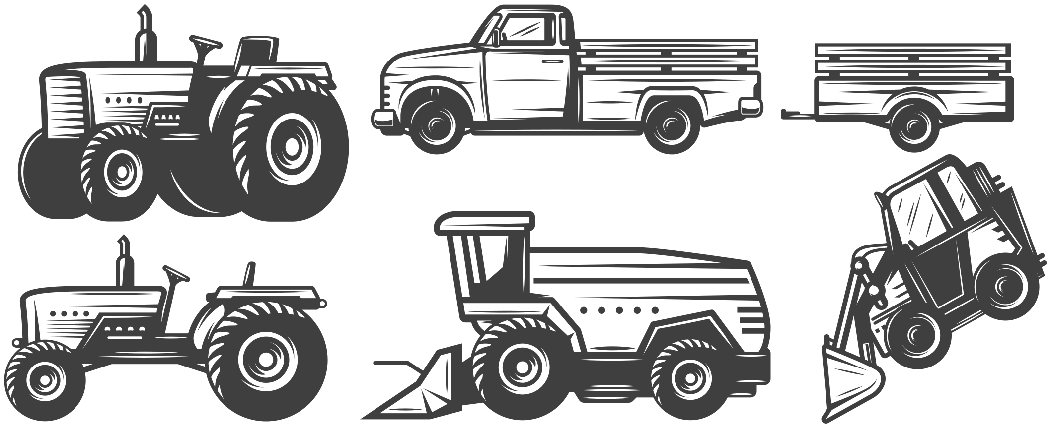 TenVinilo. Vinilo para niños vehículos granjeros. Increíble vinilo para niños con vehículos de granjeros para que decores el cuarto de tu hijo de forma original ¡Fácil de colocar!