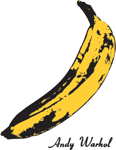 TenStickers. Banana Warhol Wall Sticker. Room Stickers - Inspired by the most famous pop artist Andy Warhol. Ideal for decorating your home.
