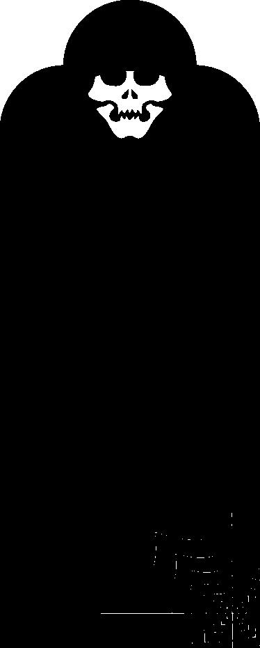 TenStickers. Muursticker krijtbord monster. Deze muursticker van een krijtbord is in de vorm van een monster. Een grappig en origineel ontwerp voor de kinderkamer.
