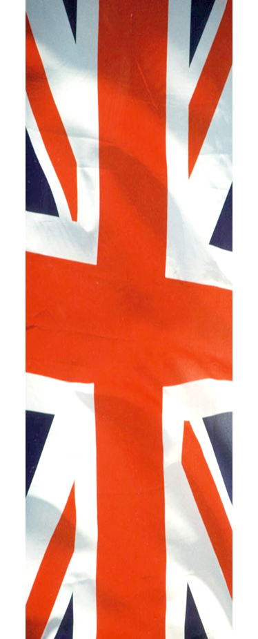 TenStickers. Union Jack Fridge Cover Sticker. Fridge Stickers - Great Britain inspired design. Union Jack flag to cover your fridge.