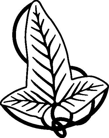 TenVinilo. Vinilo decorativo hoja de Lorien. Adhesivo con una representación dibujada de la joya élfica del Señor de los Anillos.
