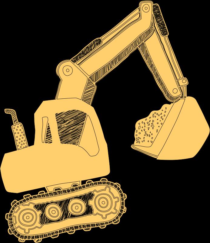 TENSTICKERS. バガーと建設現場の子供の寝室のウォールステッカー. 重機車を愛するあなたの男の子の子供の部屋を飾るための素晴らしい建設機械のウォールステッカー。耐久性があり、簡単に適用できます。