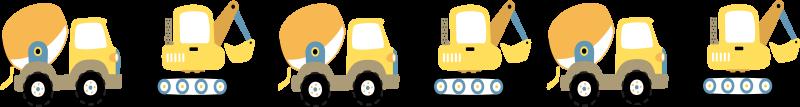 TENSTICKERS. ティーンエイジャーの部屋のためのバガーとトラックのウォールステッカー. 子供部屋の装飾のための実例となるバガーとトラックのおもちゃのデカール。デザインは、これらの車両や機器を愛するティーンエイジャーにも適しています。