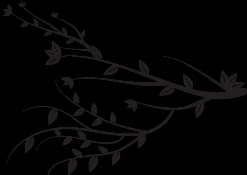 TENSTICKERS. 広い葉の枝の植物のステッカー. 家の中のどんな空間にも飾れる、シンプルで可愛くてエレガントな木の枝デカール。適用が簡単で、さまざまなサイズで利用できます。