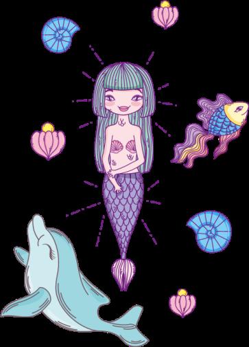 TENSTICKERS. 人魚とイルカのシャワーステッカー. 素敵な方法でシャワーのドアを飾るためにイルカのシャワーステッカーが付いている美しい人魚。へらで簡単に塗れ、粘着性があり耐久性があります。