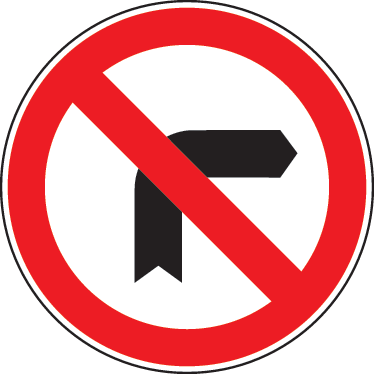 TenStickers. No Left Turn Sign Sticker. Decorative traffic sign decal of a an arrow pointing to the left with the prohibited red sign.