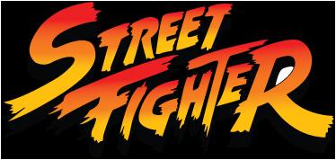 TenVinilo. Adhesivo infantil letras street fighter. Vinilo decorativo con la agresiva y reconocible tipografía de esta saga de videojuegos de lucha, street fighter.