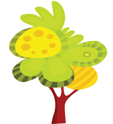 TenStickers. Illustrated Tree Wall Sticker. Wall Stickers - Original illustration of a tree. A distinctive feature in any room suitable for all ages. Available in various sizes.