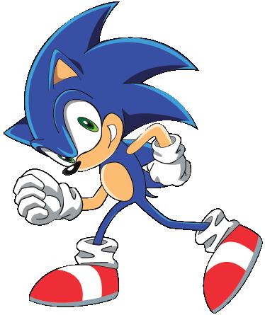 Sonic Cartoon Kids Sticker Part 69