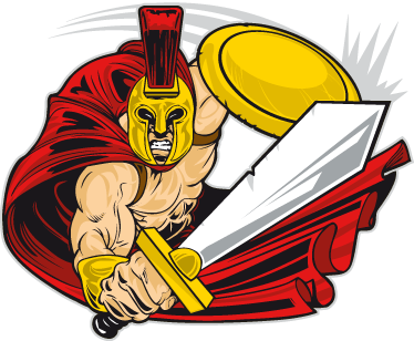 TenStickers. Spartan Decorative Sticker. Decorate your child's room with this dynamic wall sticker that is inspired by the brave Spartans from the movie 300!