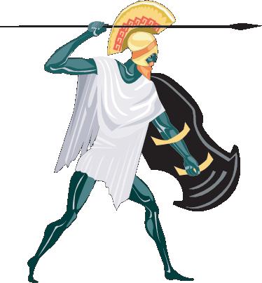 TenStickers. Sticker Griekse god Zeus. Deze muursticker omtrent de oppergod uit de Griekse mythologie: Zeus. Prachtig voor grote fans van deze grootse oudheid!