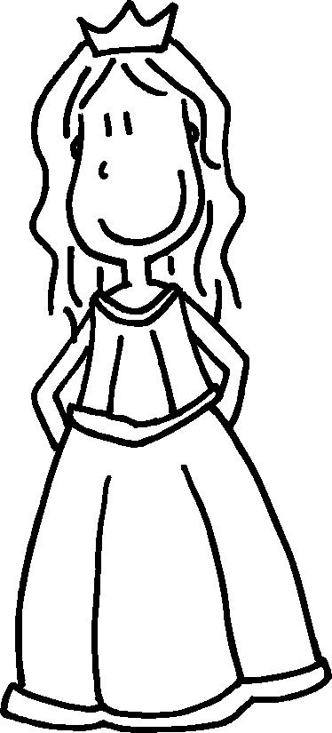 TenStickers. Adesivo cameretta regina della casa. Sticker decorativo che raffigura la classica regina del mondo delle favole. Un disegno originale di DEIA.