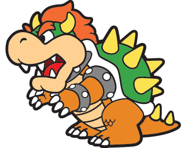 TenStickers. King Koopa Wall Sticker. Room Stickers - One of the characters from the Super Mario franchise.Decals ideal for fans.