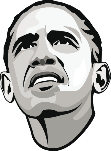 TenStickers. Obama wall decor. If you are a follower of Obama's ideology and would like to show that in your home decor, then you should get this wall sticker of Obama's face!