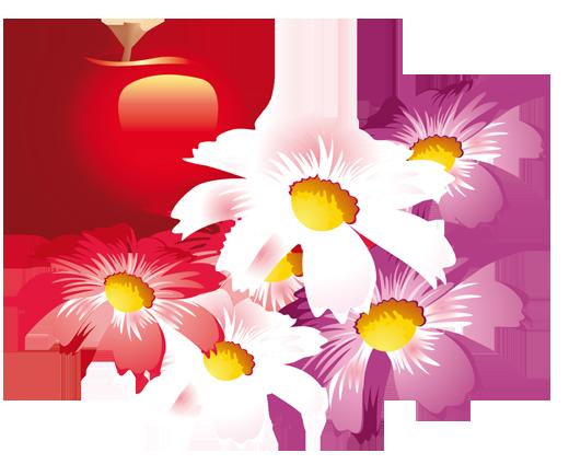 TenStickers. Sticker appel bloemen. Bent u een natuurliefhebber? Dan is deze muursticker iets voor u. Deze wanddecoratie brengt een positieve en gezellige sfeer in uw huis.