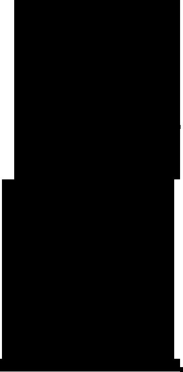 TenStickers. Sticker decorativo ragazza afro. Adesivo murale che raffigura la silhouette di una donna dai capelli assai voluminosi. Una decorazione moderna ed originale per il soggiorno o la camera da letto.