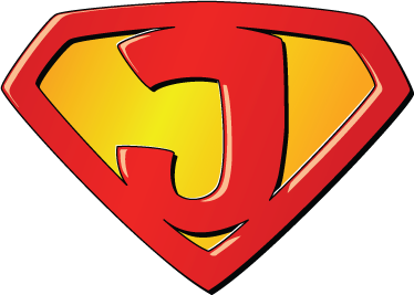 TenVinilo. Vinilo infantil super J. ¿Jorge, Julio, Jonathan...? Si tienes en casa a un superhéroe decora su habitación con su propio super emblema adhesivo.
