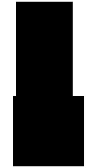 TenStickers. Adesivo cameretta sei mani tre piedi. Sticker decorativo che raffigura la silhouette di un curioso mostro con tre piedi e sei mani. Un'idea originale per decorare la cameretta dei bambini.