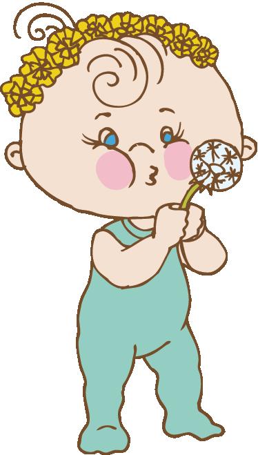 Wandtattoo Kinderzimmer Baby Mit Pusteblume Tenstickers