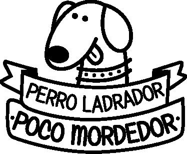 TenVinilo. Vinilo refranes perro ladrador. Adhesivo lleno de sabiduría popular con una frase hecha reconocidísima.