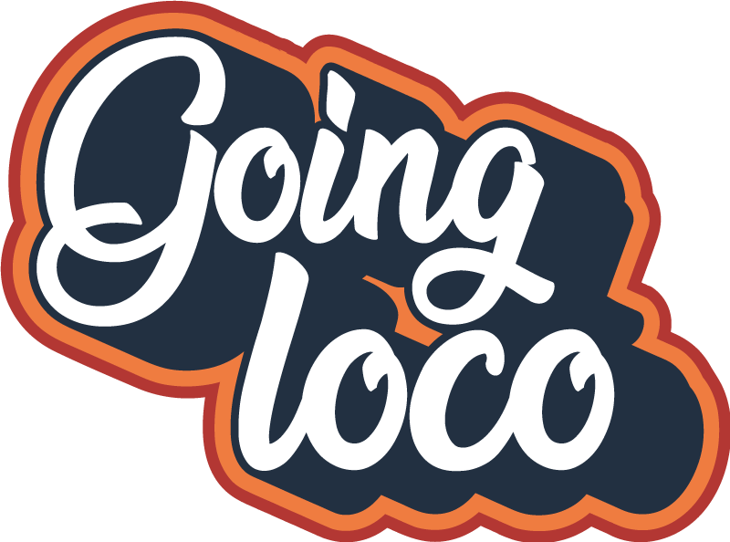 Going Loco Vintage Sticker Tenstickers