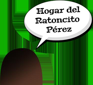 TenVinilo. Adhesivo hogar ratoncito Pérez. Original adhesivo de tenvinilo con el que podrás convencer a tus hijos de que en casa vive este famoso roedor.