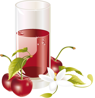 TenStickers. Cherry Juice Wall Sticker. Kitchen Sticker - Refreshing cherry juice wall sticker for setting the mood for food and drink in your home decor. This lovely red wall sticker is perfect for the summer to add that extra touch of good vibes to your life.