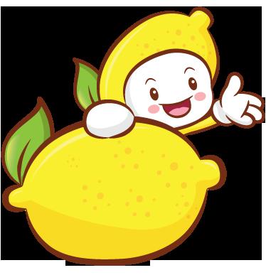 TenStickers. Limon çocuk duvar sticker. Mutfak duvar çıkartmaları - sallayarak ve bir limon arkasında gülümseyen sevimli limon karakter oynak illüstrasyon. Meyve çıkartma koleksiyonumuzdan bu eğlenceli karikatür duvar etiketiyle mutfağınızın duvarlarına canlı sarı ve yeşil renk katın.