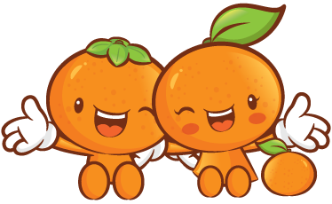 TenStickers. Two Happy Clementines Wall Sticker. A great fruit wall sticker of two colourful and happy clementines! A joyful and healthy decal for your kitchen walls. Looking for a fun design to brighten up your kitchen and give it a new appearance? This design serves as a reminder to always have plenty of fruit!