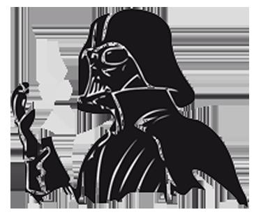 TenStickers. Laptopsticker Darth Vader. Indrukwekkende laptopsticker van Darth Vader, speciaal voor de Macbook! Verkrijgbaarin verschillende kleuren en maten. Eenvoudig aan te brengen.