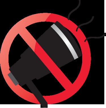 TenVinilo. Adhesivo prohibido gritar. En un cuarto a veces se pueden escuchar chillidos, recuérdate con este adhesivo que tienes que reprimirlos por tus vecinos.