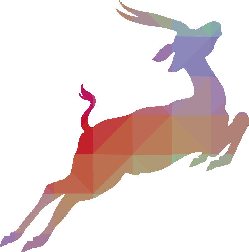 Silhouette Of A Walking Horse Antelope Antelope Gazelle