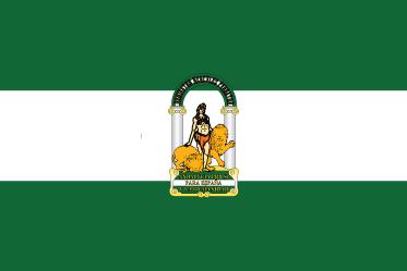 TenVinilo. Vinilo para pared bandera Andalucía. Pegatina adhesiva en acabado mate formada por el diseño de la bandera de la Comunidad Autónoma de Andalucía. +50 Colores Disponibles.