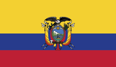TenStickers. Ecuador Flag Sticker. Decals - The Ecuadorian flag. Ideal for homes or businesses. Suitable for decorating gadgets and appliances. Available in various sizes.