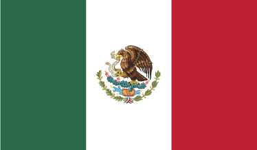 TENSTICKERS. メキシコ国旗ステッカー. デカール-メキシコの旗。メキシコ合衆国。家庭や企業に最適です。
