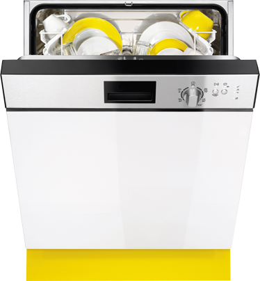 TenStickers. Dishwasher Decal. Dishwasher stickers- Unique design where you confuse others by decorating your dishwasher with an image of another dishwasher!