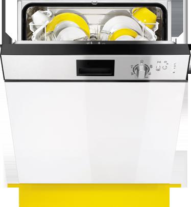 Tenstickers. Oppvaskmaskindekal. Oppvaskmaskin klistremerker - unikt design hvor du forvirrer andre ved å dekorere oppvaskmaskinen med et bilde av en annen oppvaskmaskin!